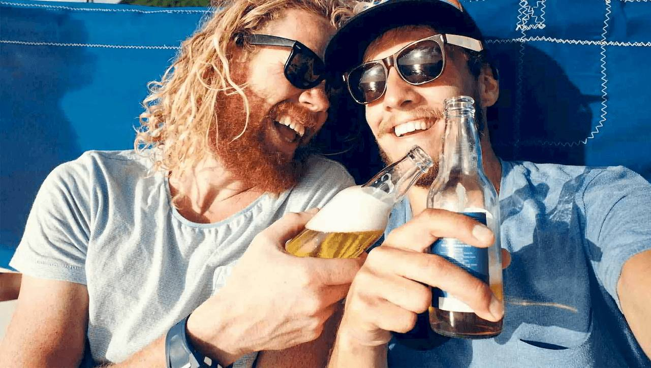 mannen-biertje